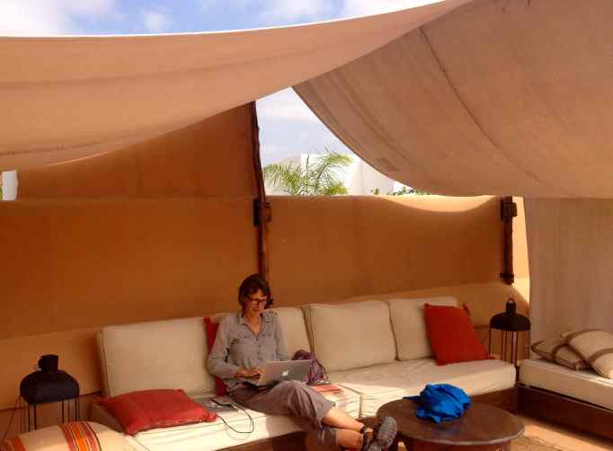 Our riad rooftop hideaway with a view