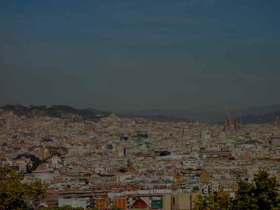 View from Mountjuïc