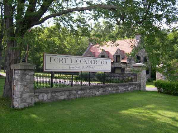Evidence that Dale and Papa made it to the south end of Lake Champlain in northern New York is this photo of Fort Ticonderoga.