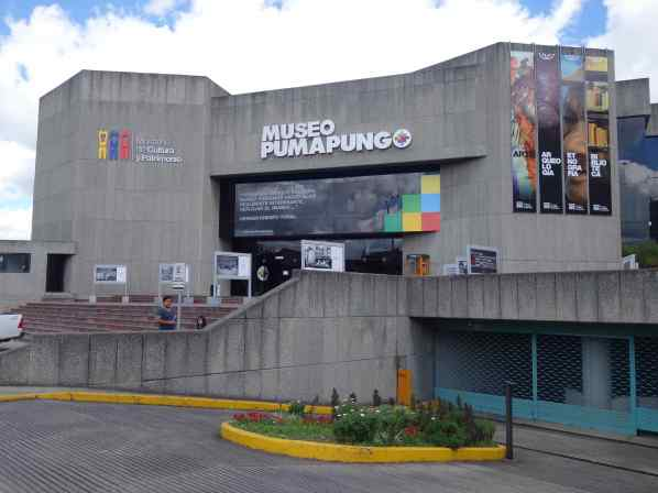 This is the front of the museum, where you enter.  Also, in back of the museum are Inca ruins that you can wander around.