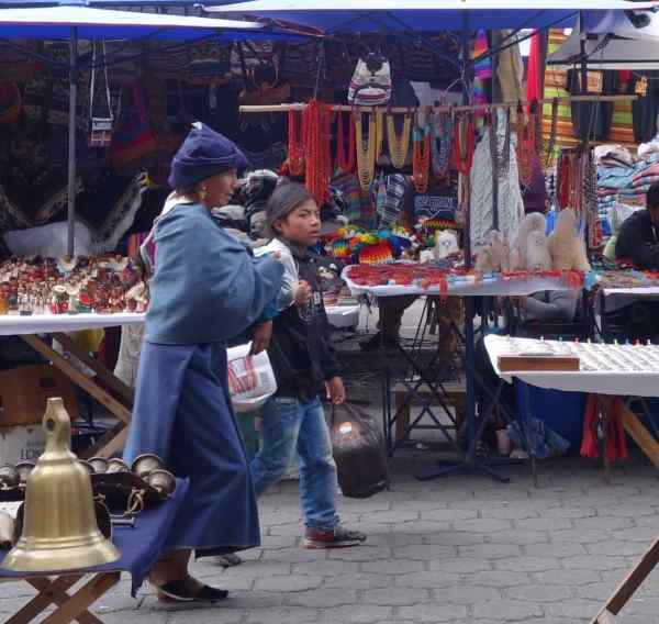 Why go to Otavalo? Well, it's the biggest indigenous peoples' market in South America; that's why!