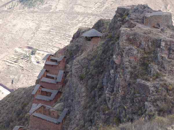 If you want to see the Inca ruins at Pisac, then you want to climb some step paths and stairways -- rocky in some places, too.