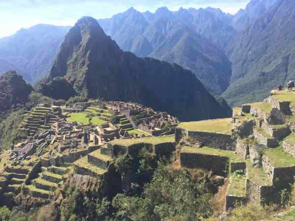 """Old Peak"" doesn't begin to describe what we saw at Machu Picchu, the ruins of an Inca estate."