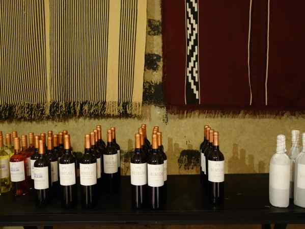 At our first Ampora Wine Tour stop, we saw old ponchos and new bottles of wine, symbols of two old traditions in Mendoza.